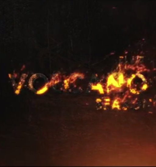 trapcode particular logo burn
