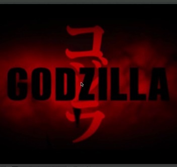 godzilla movie title after effects