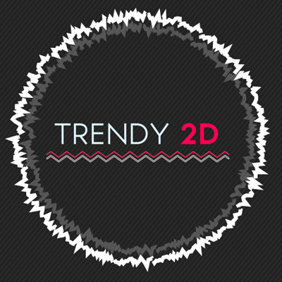 Trendy 2D free after effects template